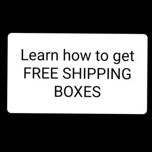 Jewelry - Free shipping boxes and bubble mailers